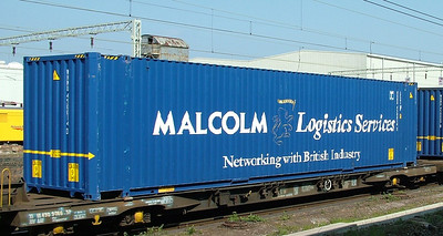 WH Malcolm LEG1 container WHMU450014-3 at Rugby, 21st April 2005