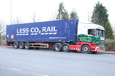 LEGB container XXLU140168-2 in Stobart Rail livery - Tom Smith image used with permission