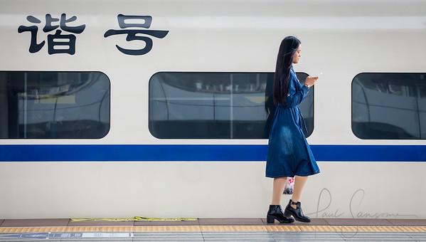Super modern Chinese train