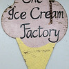 Ice Cream Factory in Townsend is one of the local seasonal eateries in the North Central MA region. This is their original sign that they still have hanging in their establishment. SENTINEL & ENTERPRISE/JOHN LOVE