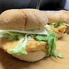 Ice Cream Factory in Townsend is one of the local seasonal eateries in the North Central MA region. Three haddock fish sandwiches for a customer on Friday around lunch time. SENTINEL & ENTERPRISE/JOHN LOVE