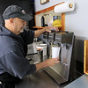Ice Cream Factory in Townsend is one of the local seasonal eateries in the North Central MA region. Tom panagiotes makes a chocolate shake for a customer on Friday around lunch time. SENTINEL & ENTERPRISE/JOHN LOVE