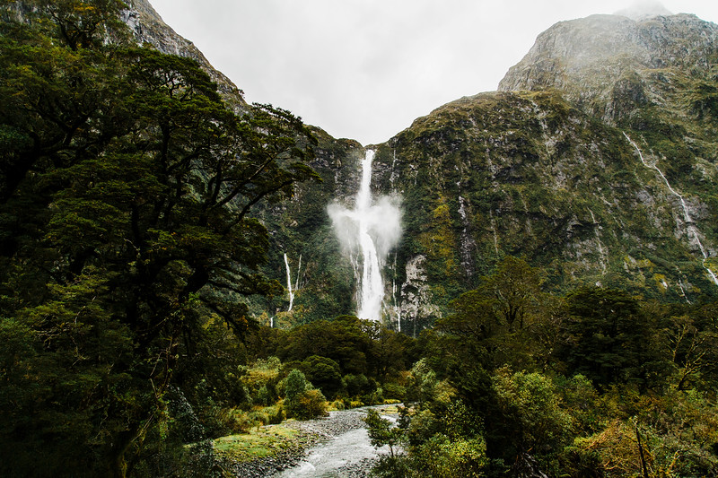 Suthernland Falls, New Zealand