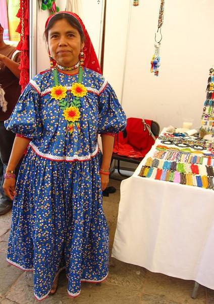 A Huichol Señora From Jalisco