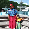 Mother And Daughter Huichols Visiting Queretaro For An Indigenous Handicraft Show