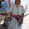 A Tarahumara Vendor In Chihuahua