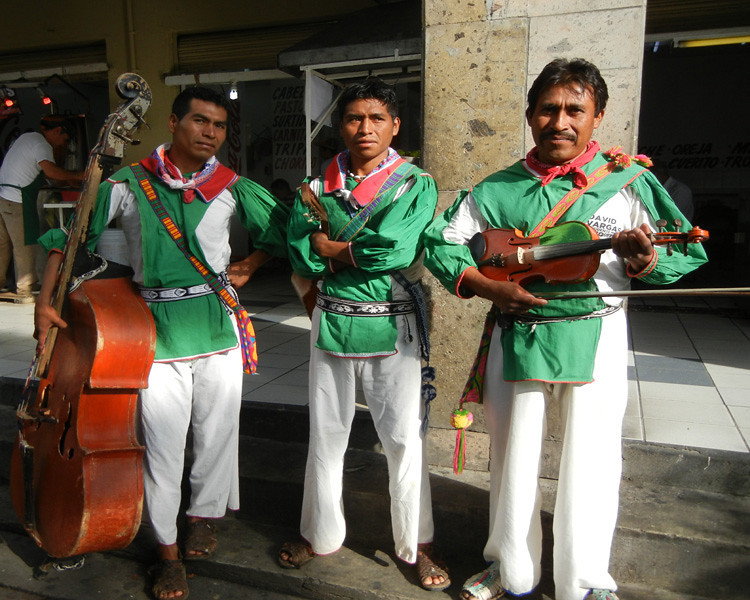 Huichol Musicans From Jalisco