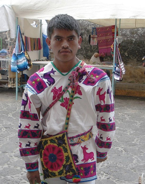 A Young Huichol Man From Jalisco