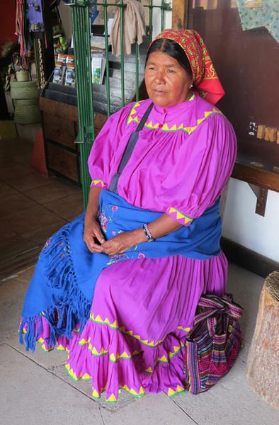 A Lovely Tarahumara Woman From Creel, Chihuahua
