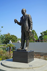 New Orleans, LA.   Armstrong Park.  Satchmo.