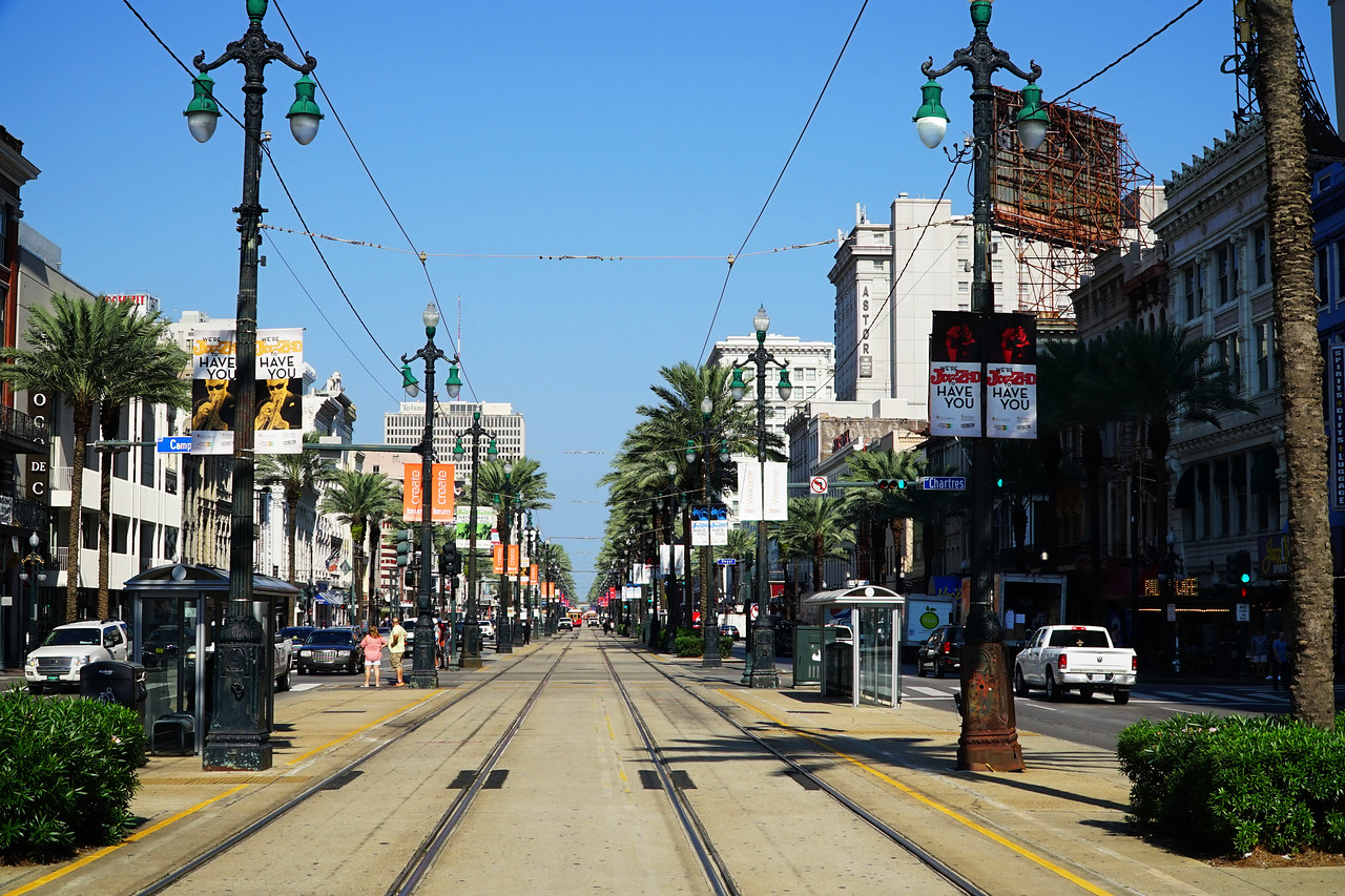 New Orleans, LA.   Canal Street.
