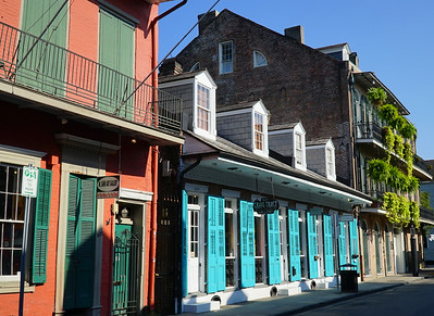 New Orleans, LA.   The French Quarter.