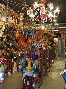 New Orleans, LA.   The French Quarter.   Same mask shop.