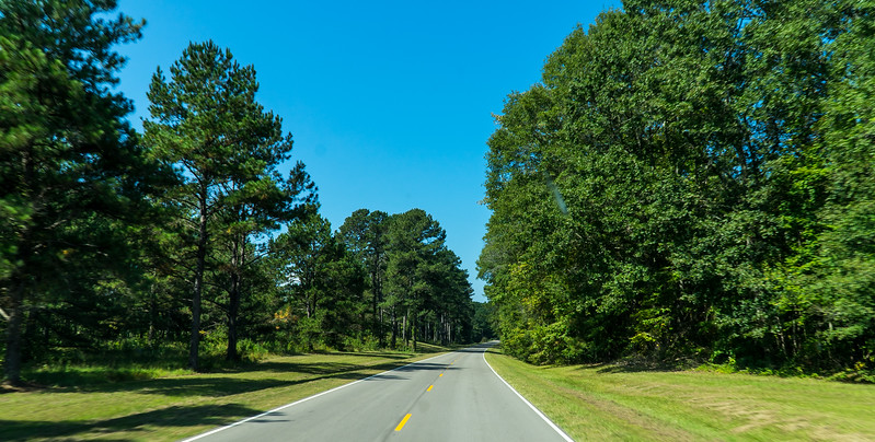 Natchez Trace Parkway, MS, MM 300 -- 9/21, 11:05 am ... no electric lights of any kind...