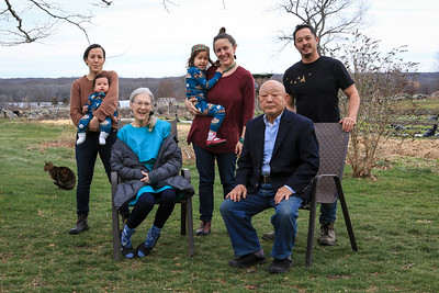 Ishihara Family, Movement Ground Farm, Tiverton RI, Rhode Island