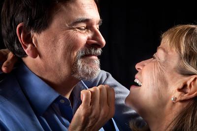 Paul Finocchiaro and Nancy Shelby. Photo by Mark Leialoha.