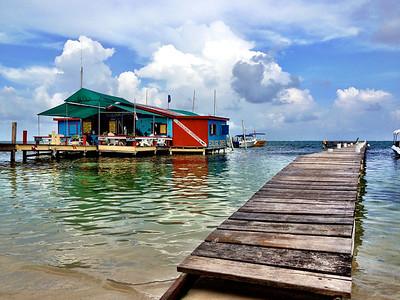 Dive Shop on Ambergris Caye, Belize