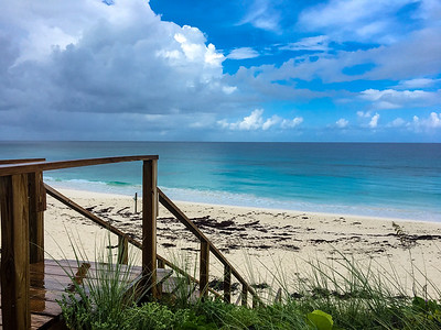 Steps to Great Guana Cay