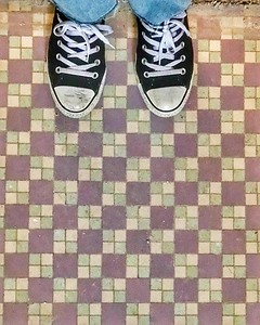 original tile. want to keep.