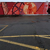 The new Iver Johnson mural in Fitchburg was completed on Sunday October 1, 2018. This picture was taken on Tuesday of the finished piece. SENTINEL & ENTERPRISE/JOHN LOVE