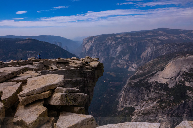 Yosemite Valley from the top of Half Dome
