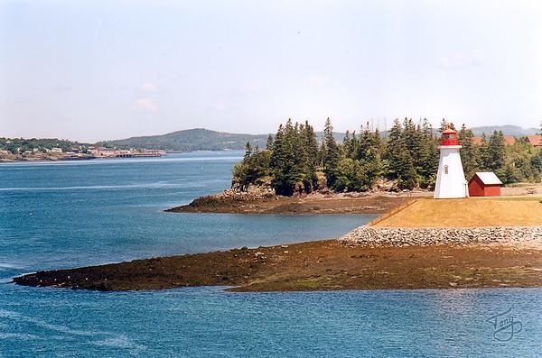 Campobello Island, Canada - 1999 - Mulholland Point Lighthouse