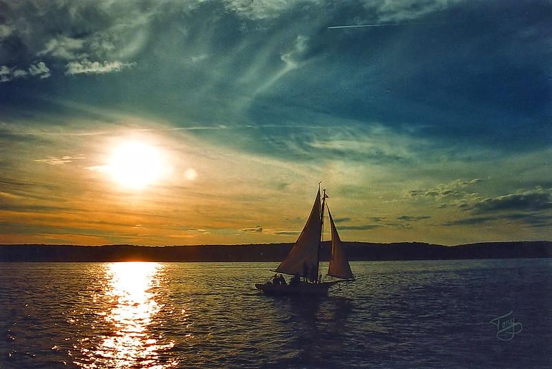 Off Eastern Point - Gloucester MA - 2005 - Sunsail