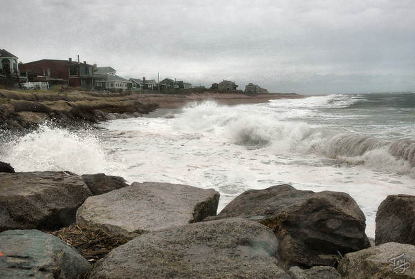 Newbury MA - Plum Island Storm 8/24/2010