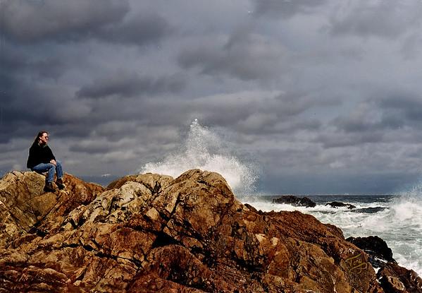 Bass Rocks - Gloucester MA - 2005