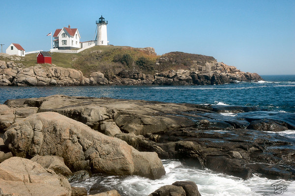 Cape Neddick ME - 8/29/2010 - Nubble Light
