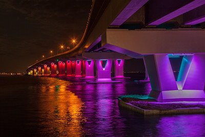 Lights under the Causeway
