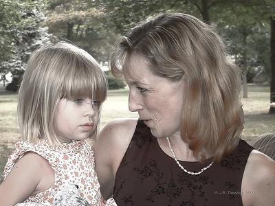 Debby and Sarah 2002