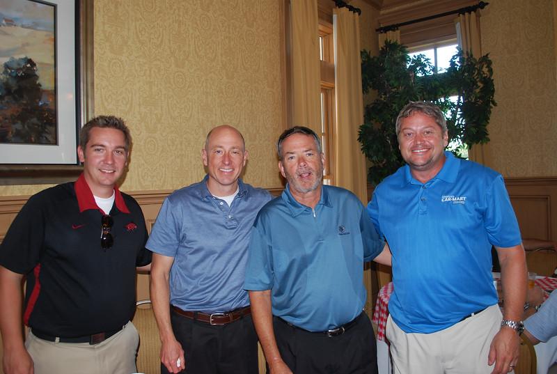 Mike Rains, Jeff Williams, John E  Elliot, Hank Henderson 1