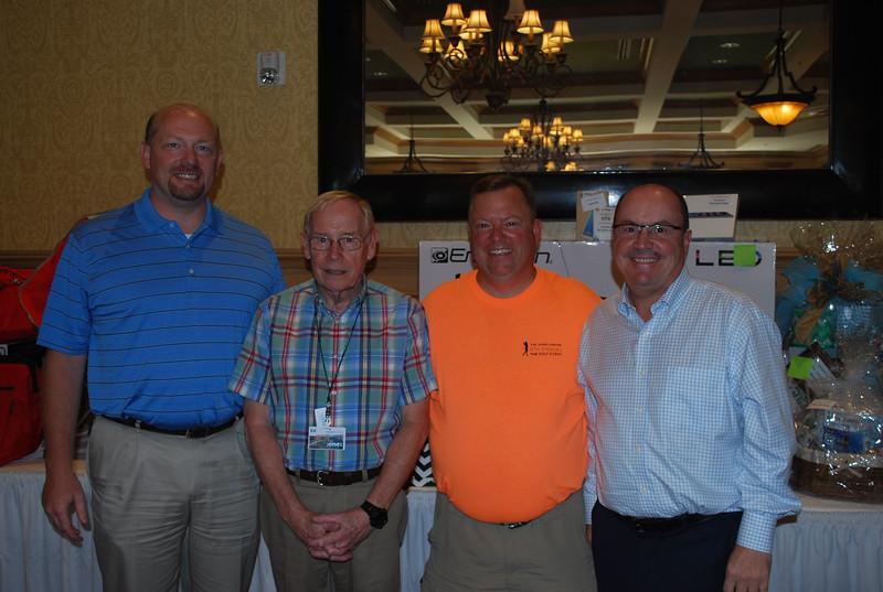 Scott Huff, Ed Clifford, Ron Brophy, Jack Sinclair 1