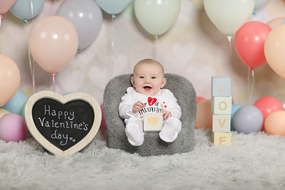 Valentines free baby photo shoot