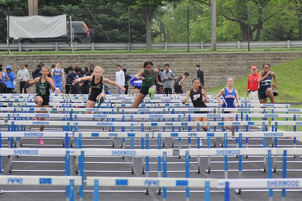 The Katie Jenkins Track Invitational at Sherwood HS 5/6/2017