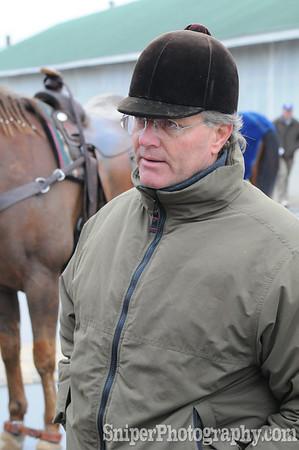 Bill Mott - Trainer Backside - Churchill Downs