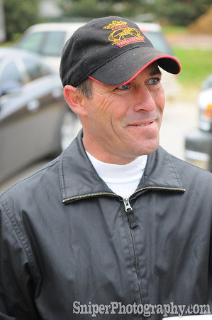 Kentucky Derby Jockey - Gary Stevens Backside - Churchill Downs