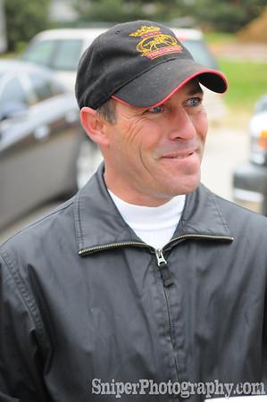 Kentucky Derby Jockey - Gary Stevens Backside - Churchill Downs