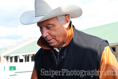 Winning trainer D. Wayne Lukas