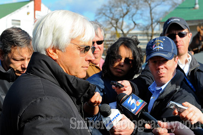 Three-time Kentucky Derby-winning trainer Bob Baffert was just elected into the National Museum of Racing's Hall of Fame.