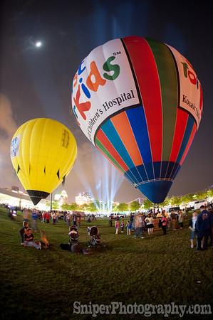 Balloon Glimmer - Waterfront Park - 2010-15