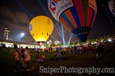 Balloon Glimmer - Waterfront Park - 2010-14