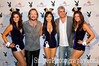 Travis Tritt and Taylor Hicks posing with Playmates on Derby Eve.