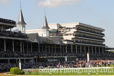 The 134th Kentucky Derby at Churchill Downs, Louisville Kentucky