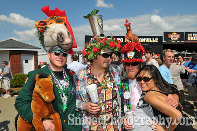 The Kentucky Derby Infield, Churchill Downs in Louisville Kentucky - 2008