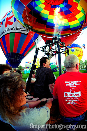 Kentucky Derby Festival - Morning Rush Hour Hot Air Ballon Race - 2008