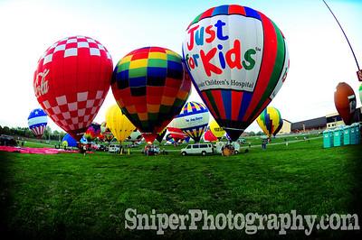Kentucky Derby Festival - Morning Rush Hour Hot Air Ballon Race - 2008