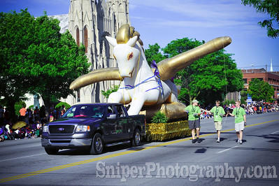 Kentucky Derby Festival Pegasus Parade 2010-8