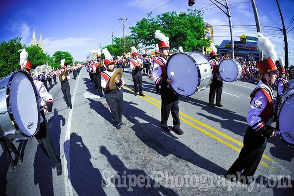 Kentucky Derby Festival Pegasus Parade 2010-13